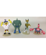 Spongebob Out Of Water Movie Figure Squidward Crabs Muscle Topper 2014 J... - $19.75