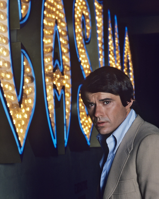 Primary image for Robert Urich In Vega$ By Casiono Neon Sign 16X20 Canvas Giclee