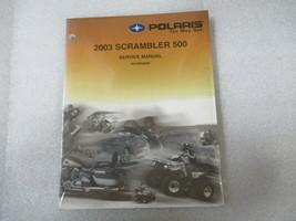 Polaris 2003 Scrambler 500 Service Manual P/N 9918060 - $15.76