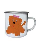 Cute Dog Lovers Pets Novelty Funny  Retro,Tin, Enamel 10oz Mug a919e - $13.13