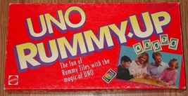 Uno Rummy Up Game 1993 Mattel Complete - $12.00