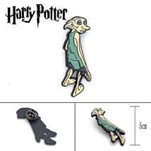 Muggles Gift Dobby metal Pins & Brooches badge Enamel Pin Harri HP for Women Men - $10.99