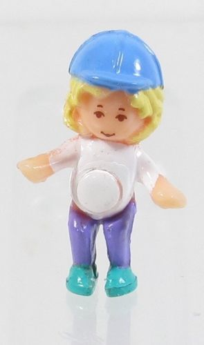 1994 Vintage Polly Pocket Doll Pony Ridin' - Polly Bluebird Toys