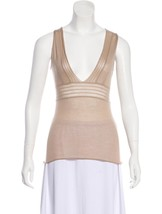 NWT Helmut Lang Rare Archival Vintage Cashmere Silk Cami Tank Top 42 IT / S - $169.99