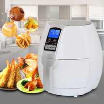 White 1500W Electric Air Fryer 3.7 Quart With Timer Temperature Control ... - €79,68 EUR