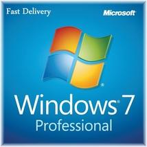 Activation Windows 7 Pro edition 64/32 bit Genuine key Lifetime license - $8.50
