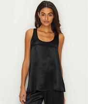 PJ HARLOW BLACK LAURA SATIN TANK, Size Large NWOT - $27.72