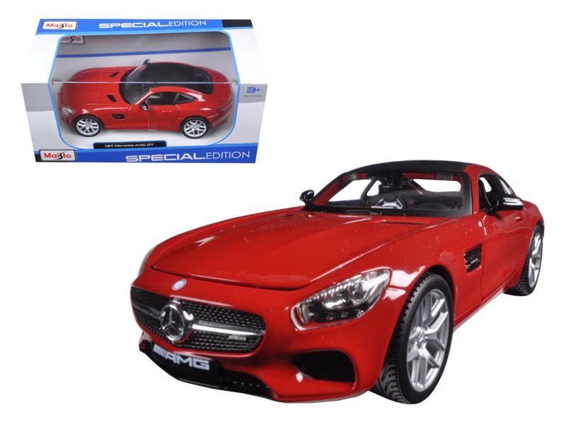 Mercedes AMG GT Red 1/24 Diecast Model Car by Maisto - $31.72