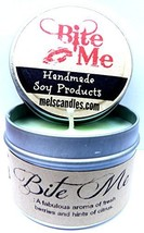 Bite Me - 4oz Soy Candle Tin approximate Burn Time 30 Hours - Novelty Ca... - €5,88 EUR