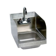Stainless Steel Hand Sink with Side Splash - NSF - Commercial Equipment ... - $165.74