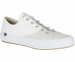 Sperry STS17441 Men's Haven Chambray Sneakers Stone, 8 Med - $37.57