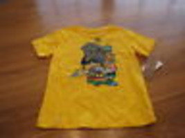 youth Boys 7 LRG roots equipment yellow t shirt NEW - $6.93
