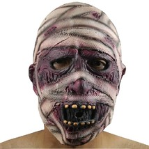 Yeduo Latex Rubber Grimace Monster Mummy Mask(MULTICOLOR) - £9.69 GBP