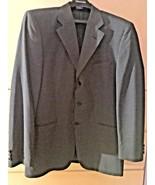 Men's Barone di Roccadoro Grayish Blue Three Button Sport Jacket (42R) - $23.38