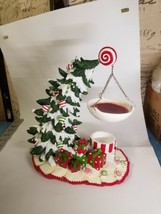 Yankee Candle Hanging Tart Burner Warmer Bent-Over Christmas Tree Presen... - $56.05