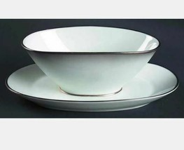 Gravy Boat with Attached Underplate Elegance (Platinum Trim) by ROSENTHAL  - $42.06