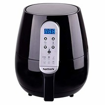 Black Air Fryer Hot Air Fryer 4.3 L/4.5 QT Smart Technology with (20Black) - $89.94