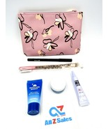 Ipsy April 2020 Glam Bag Purple Lavender Flower Makeup Cosmetic Bag w/ S... - $18.76