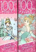 Disney Princess -  100 Pieces Jigsaw Puzzle v2- (Set of 2) - $14.84