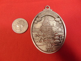 1994, Solid Pewter, Pulaski Furniture Corp. Christmas Ornament.   - $5.99