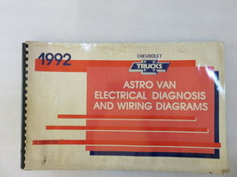 1992 Chevrolet Trucks Astro Van Electrical Diagnosis & Wiring Diagrams M... - $3.74