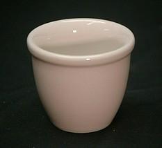 HALL Pottery Small White Ramekin Custard Cup Vintage Restaurant Ware 351... - $9.89