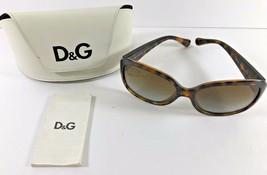 5ca043004b51 Dolce Gabbana 8065 Polarized Sunglass Frames 502/T5 59-16mm Tortoise Brown  Case -