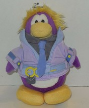 """Disney Club Penguin Series 10 Purple Dot 6"""" Plush Toy Limited No Coin or... - $9.50"""