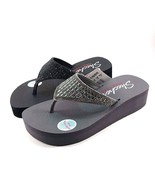 Skechers 31601 Yoga Foam Wedge Platform Thong Sandals Choose Sz/Color - $49.00