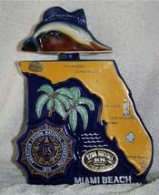 Ezra Brooks Liquor Decanter American Legion 1974 56th Convention Miami Beach - $5.87