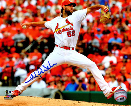 MICHAEL WACHA Signed St Louis Cardinals Pitching Action 8x10 Photo - SCH... - $78.21