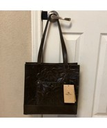 Patricia Nash Brown Leather Floral Deboss Purse Handbag New With Tags - $250.00