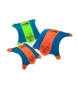 Dog Toy Flying Squirrel Raised Sides Glowing Floating Water Fetch Assorted Color - $15.73 - $20.68