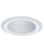 """White Baffle with Trim 6"""" C-Land Manufacturing CL09170 for Recessed Ligh... - $17.95"""