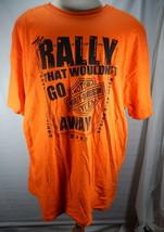 Mens 2XL Orange Harley Davidson T-Shirt 2011 Cruisin the Coast Myrtle Be... - $16.62