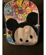 Disney Tsum-Tsum Mickey Mouse 16in Backpack Tigger Donald Goofy Stitch - $18.81
