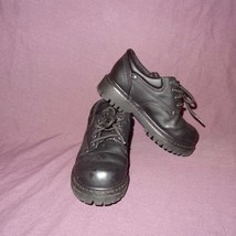 Dress Shoes Black Oxford Toddler Size 10.5 M Wide Arizona Jean Company Boys - $13.89
