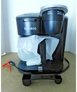 KeurigK-Duo Essentials Single Serve & Carafe Coffee Maker - Black- Tested Works - $49.45