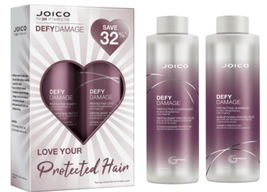 Joico Defy Damage Protective Shampoo, Conditioner Liter Duo - $51.00