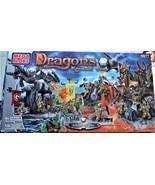 Dragons Krystal Wars  (Island Of Fire) - MEGA BLOKS - NEW - Factory Sealed - $59.95