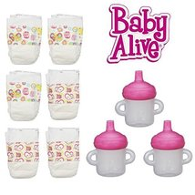 Baby Alive Sippy Cup w// Removable Pink Lid HASBRO Officially Licensed USA Seller