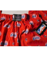 NWT Los Angeles Clippers Basketball Red UNK Loungewear Pajamas Sz S Smal... - $19.79