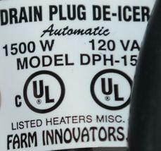 Farm Innovators Inc. DPH 15 Rubbermaid Drain Plug De Icer Corded image 5