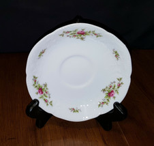 Rosenthal Continental Sanssouci Rose White No Trim Saucer Germany Beautiful - $6.99