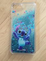 Disney Stitch Liquid Glitter Quicksand Case For iPhone 6/6s Plus - $13.99