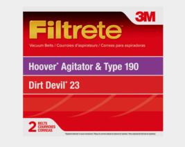 3M Filtrate Vacuum Belts For Hoover Agitator & Type 190 Dirt Devil 23 2 ... - $7.99