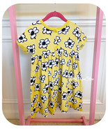 EUC HANNA ANDERSSON FLORAL PLAY DRESS IN YELLOW SIZE 110 OR US-5 - $14.73