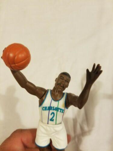 Larry Johnson Charlotte Hornets Starting Lineup SLU NBA Vintage Action Figure