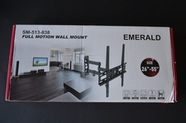 TV LCD Wall Mount Bracket For 26u0026quot; 55u0026quot; Screens Emerald Full Motion  Tilt
