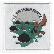 US Navy 19 Mine Division Patch - $11.87